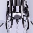 Deckenleuchte, Nickelfarbig /Metall Glas/Kristall 8*60W E27, 315011308