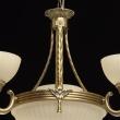 Kronleuchte, Antike Messingfarbe / Metall Glas 3*60W E27Und3*60W E14, 317010406