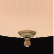 Hängeleuchte, Antike Messingfarbe / Metall Glas 4*60W E14, 317010504
