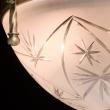 Deckenleuchte, Matte Messingfarbe / Metall Glas 3*60W E14, 317011603