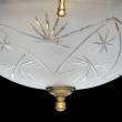 Kronleuchte, Matte Messingfarbe / Metall Messing Glas 5*60W E27Und3*40W E14, 317011708