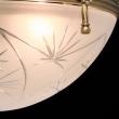 Hängeleuchte, Matte Messingfarbe / Metall Glas 4*60W E14, 317012104