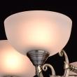 Kronleuchte, Messingfarbe / Metall Glas 5*60W E27, 318011205