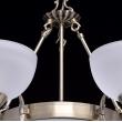 Kronleuchte, Messingfarbe / Metall Glas 8*60W E27, 318011408
