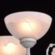 Kronleuchte, Matt Weiss+Goldfarbe/Metall Messing Glas/Kristall 5*60W E14, 318013905