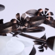 Deckenleuchte, Antike Braune Farbe / Metall Glas 8*40W E14, 323013708