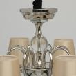 Hängeleuchte, Champagne/Fabric Nickel/Metal Transparent/Crystal 8*40W E14 2700K, 355013908