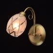 Wandleuchte, Matte Goldfarbe / Metall Glas 1*60W E14, 358021301
