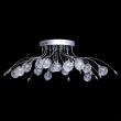 Deckenleuchte, Chrome/Metal Transparent/Glass 16*2,5W G4 Led Leds Included Remote Control, 360014116