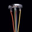 Hängeleuchte, Chromfarben / Metall Akrzl Mehrfarbig 5*40W E27, 365014505