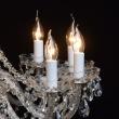 Kronleuchte, Franzoesische Goldfarbe/Metall Messing Kristall/Glas12*60W E14, 367012812