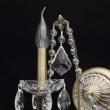 Wandleuchte, Bronze Color / Metal Crystal/Glass 2*60W E14, 367023802