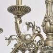 Kronleuchte, Paintedbronze Color / Metal 6*60W E14, 371011106