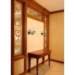 Wandleuchte, Antique Brass Color / Metal Crystal/Glass 1*60W E14, 371022901
