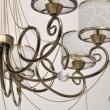 Hängeleuchte, Antique Brass Color /Metal Transparent /Acrylic Transparent /Crystal 8*40W E14 2700K, 372013508