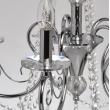 Hängeleuchte, Chrom/Metalll/Glas/Kristall 5*40W E14, 373011705