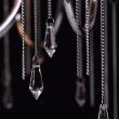 Deckenleuchte, Chromfarben / Metall Lampenschirm / Kristall 6*40W E14, 379018506