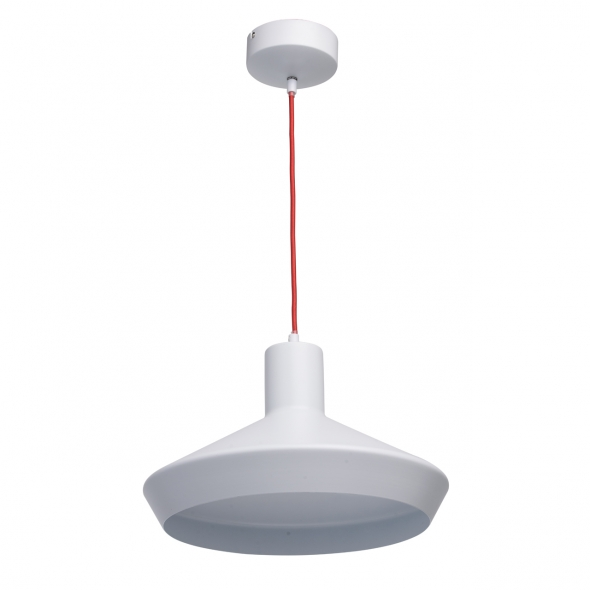 Hängeleuchte, Matt Weiße Farbe / Metall 1*18W Led 2070Lm 3000K 30000Hours Led Included, 408012101