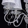 Kronleuchte, Matte Weisse Und Goldfarbe / Metall Kristall/Glas Lampenschirm 5*40W E14, 419010805