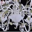 Kronleuchte, Weiss + Goldfarbe / Metall Kristall 8*40W E14, 421012508