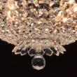 Hängeleuchte, Chrom/Metall Glasklar/Glas Glasklar/Kristall 6*40 W E14 2700K, 447010306