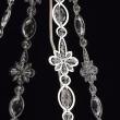 Hängeleuchte, Chrom/Metall Glasklar/Glas Glasklar/Kristall 12*40 W E14 2700K, 447010512