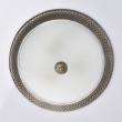 Deckenleuchte, Antike Messingfarbe / Metall Mattes Glas 3*60W E27, 450015603