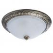 Deckenleuchte, Antike Messingfarbe / Metal Mattes Glas 3*60W E27, 450015703