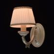 Wandleuchte, Elfenbeinfarbe / Metall Lampenschirm 1*60W E14, 450022601