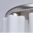 Hängeleuchte, Paint Pearl Chome Color / Metal Glass 7*40W E27, 451011407