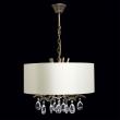 Hängeleuchte, Bronzefarbe / Metall Lampenschirm 5*40W E14, 454010905
