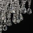 Deckenleuchte, Chrome/Metal Transparent/Crystal 9*60W E14 , 464018609