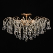 Deckenleuchte, French Gold/Metal Transparent/Crystal 9*60W E14 , 464018709