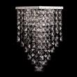 Wandleuchte, Chromfarben / Metall Kristall 1*60W E14, 464021901