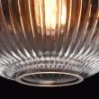 Deckenleuchte, Antique Brass Color / Metal Glass 1*60W E27, 481012201