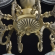 Deckenleuchte, Champagnue Gold/Metal 8*40W E27, 481013608