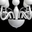 Kronleuchte, Weiss/Metall Glas 8*40W E14, 483010308