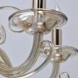 Hängeleuchte, S Gold/Metal Cognac/Glass Cognac/Crystal 6*40W E14, 483012906