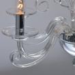 Deckenleuchte, Chrome/Metal Transparent/Crystal 6*40W E14, 483013306