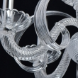 Hängeleuchte, Chrome/Metal Transparent/Glass 6*40W E14, 483013506