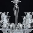 Hängeleuchte, Chrome/Metal White Painted+Transparent/Glass 8*40W E14, 483013908
