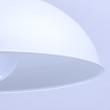 Hängeleuchte, Matt Weiss / Metall 1*60W E27, 497014501