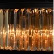Hängeleuchte, Matt Black/Metal Golden Teak/Crystal 6*60W E14 2700K, 498014806