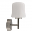 Wandleuchte, Matt Nickel/Metal White/Glass 5W Led 300 Lm 4000K Ip44, 509024101