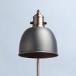 Stehleuchte, Matt Antique Silver/Metal Copper/Metal 1*40W E14, 551041401