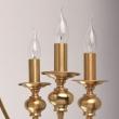 Hängeleuchte, Antik Messing/Metall 8*60W E14 Ip20, 614010608