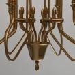 Kronleuchte, Brass/Metal White/Fabric 8*40W E14 2700K, 614010908