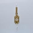 Wandleuchte, Brass/Metal Transparent/Crystal 1*40W E14, 614022701