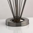 Tischleuchte, Pearl Black+Gold/Metal 4*60W E14, 615031304
