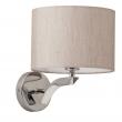 Wandleuchte, Chromfarben/Rostfreier Stahl Lampenschirm (Baumwoll) 1*40W E14, 626020101